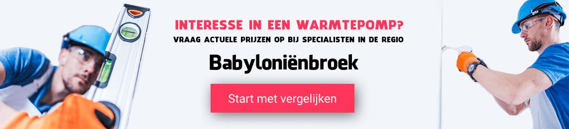 warmtepomp-Babyloniënbroek