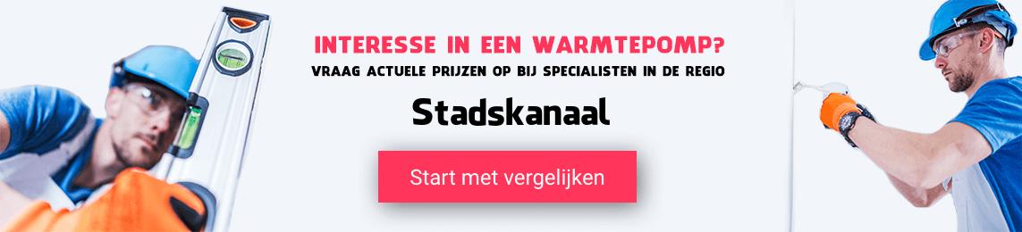 warmtepomp-Stadskanaal